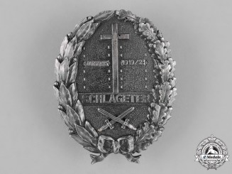 Germany, Weimar. A Freikorps Schlageter Badge, Second Type, by Paul Küst