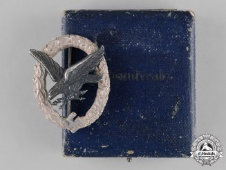 Germany, Luftwaffe. A Radio Operator & Air Gunner Badge, by F.W. Assmann & Söhne