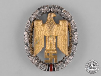 Germany, Third Reich. A Rare Gau Sudetenland Honour Badge