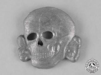 Germany, SS. A Late War Period Waffen-SS Visor Cap Skull