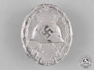 Germany, Wehrmacht. A Silver Grade Wound Badge, by Carl Wild