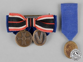 Germany, RAD. A Group of RAD Service Award Miniatures