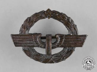Germany, Reichsbahn, A German Female Railway Staff Service Badge, Bronze Grade, c.1944