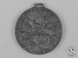 Germany, Wehrmacht. A Rare 1943 Wartime Christian Medal for Front Soldiers in Greece