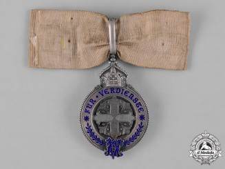 Prussia, Kingdom. A Rare Variant of a Prussian Ladies Merit Cross, Silver Grade, c.1900