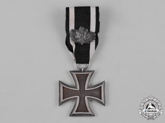 Prussia, Kingdom. An Iron Cross, II Class, with 25 Years Jubilee Pendant, c.1895