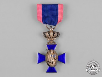Bavaria, Kingdom. A Royal Merit Order of St. Michael, III Class Cross, by G & S, c.1910