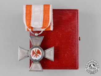 Prussia, State. A Red Eagle Order, IV Class Cross, with Case, by R. Zeich, c.1900
