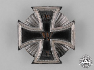 Germany, Imperial. A 1914 Iron Cross, I Class, Screwback Version