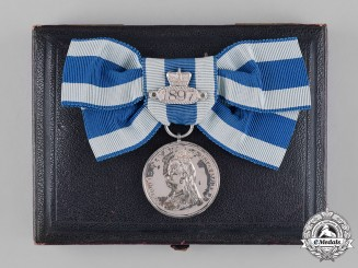 United Kingdom. A Queen Victoria Fiftieth Jubilee Medal 1887
