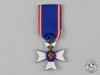 United Kingdom. A Royal Victorian Order, Breast Badge for Members (MVO)
