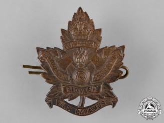 Canada, CEF. A 2nd Pioneer Battalion Cap Badge
