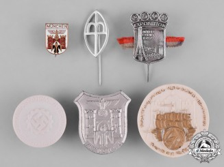 Germany, Third Reich. A Lot of Second War Period Day Badges