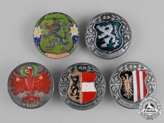 Austria, First Republic. A Collection of Austrian Patriotic Badges