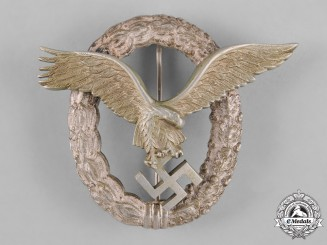 Germany, Luftwaffe. A Pilot's Badge, by Friedrich Linden