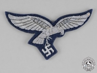 Germany, Luftwaffe. A Mint Officer's Tunic Breast Eagle