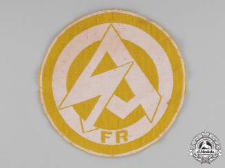 Germany, SA. A RZM-Marked SA Sports Shirt Insignia