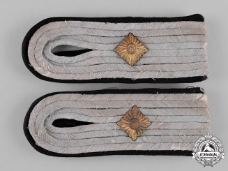 Germany, SS. A Set of Pioneer Obersturmführer Shoulder Boards