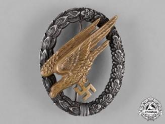 Germany, Luftwaffe. A Fallschirmjäger Badge, by Gebrüder Schneider