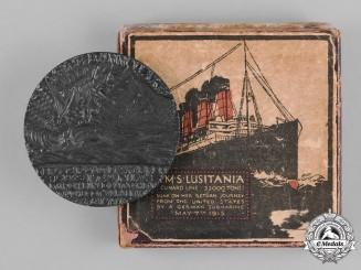 United Kingdom. An RMS Lusitania Propaganda Medal