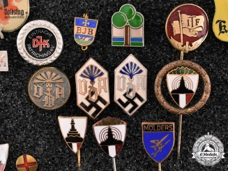 Germany. A Large Group of Badges and Stick Pins