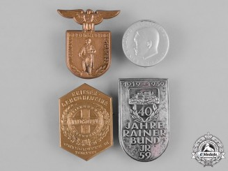 Germany, Third Reich. A Lot of Third Reich Period German Badges