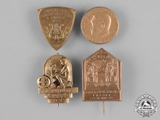 Germany, Third Reich. A Lot of Second War Period Badges