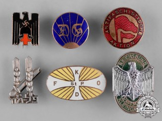 Germany, Third Reich. A Collection of Third Reich Period Membership Badges