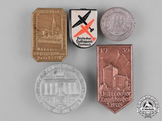 Germany, Third Reich. A Collection of Second War Period Day Badges
