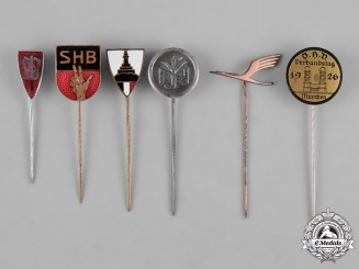 Germany, Third Reich. A Collection of Second War Period Stick Pins