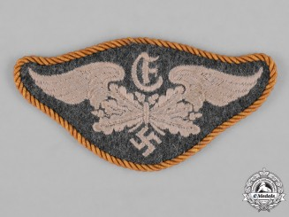 Germany, Luftwaffe. A Range-Finder Crew Member Trade Insignia with One Year Service Award Cord