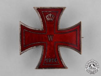 Germany, Imperial. An Iron Cross Badge, c.1914