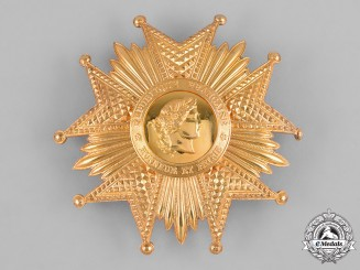 France, IV Republic. A National Order of the Legion of Honour, I Class Grand Cross Star, by Bertrand, c.1955