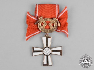 Finland, Republic. An Order of the Cross of Liberty, Military Division, II Class