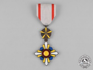 Japan, Occupied Manchukuo. An Order of the Auspicious Clouds, 6th Class