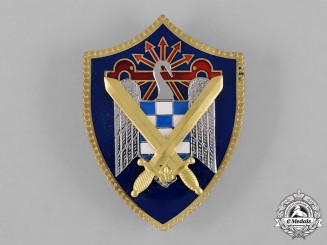 Spain, Franco Period. A Spanish Students League of the Falange Army Badge c.1950