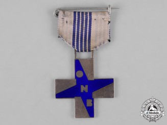 "Italy, Kingdom. A Fascist Youth ""Opera Nazionale Balilla"" (ONB) Cross of Merit for Boys"