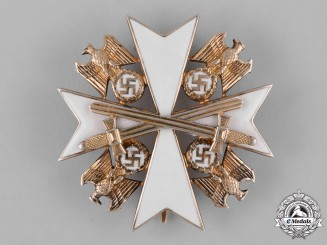 Germany, NSDAP. An Order of the German Eagle, IV Class Breast Star with Swords