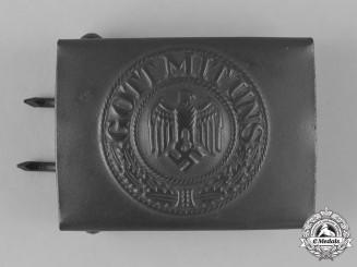 Germany, Heer. A Second War Period Heer (Army) EM/NCO's Belt Buckle