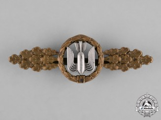 Germany, Luftwaffe. A Bomber Pilot's Clasp, Bronze Grade, by G.H. Osang