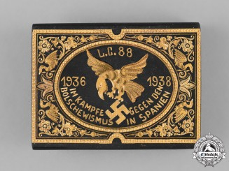 Germany, Condor Legion. A Spanish Civil War Condor Legion Commemorative Belt Buckle