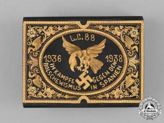 Germany, Condor Legion. A Spanish Civil War Condor Legion Commemorative Belt Buckle