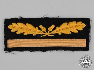Germany, SS. A Waffen-SS Brigadeführer Sleeve Rank Insignia