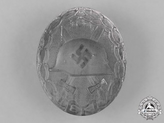 Germany, Wehrmacht. A Silver Grade Wound Badge by B.H. Mayer