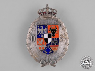 Romania, Kingdom. A Sport Organization Badge, II Class c.1930