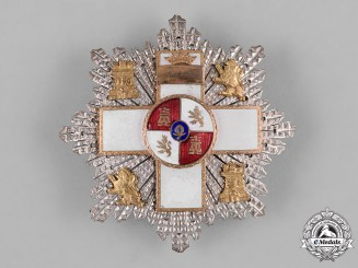 Spain, Franco Period. An Order of Military Merit, White Division, II Class Star, c.1940