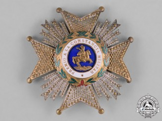 Spain, Franco Period. An Order of St. Hermenegildo, Commander's Star, c.1950