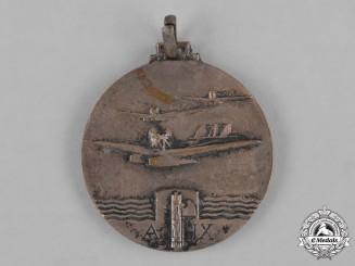 Italy, Kingdom. A Flight to Brazil Atlantic Ocean Crossing Medal, c.1931