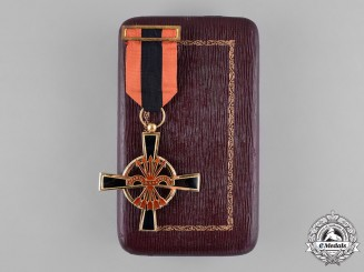 Spain, Franco Period. An Imperial Order of the Yoke and Arrows, Knight's Cross with Case
