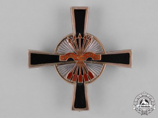 Spain, Franco Period. An Imperial Order of the Yoke and Arrows, Commander Star, c.1940